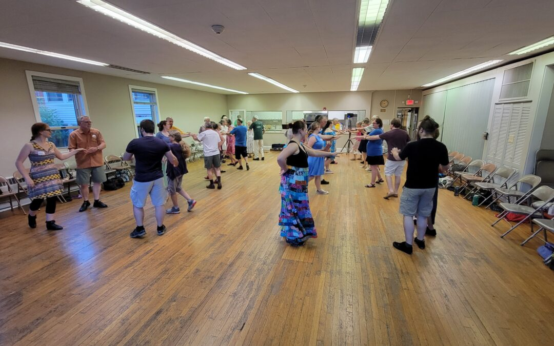 Big Scioty experimental dance held July 24; picnic planned for Aug. 7